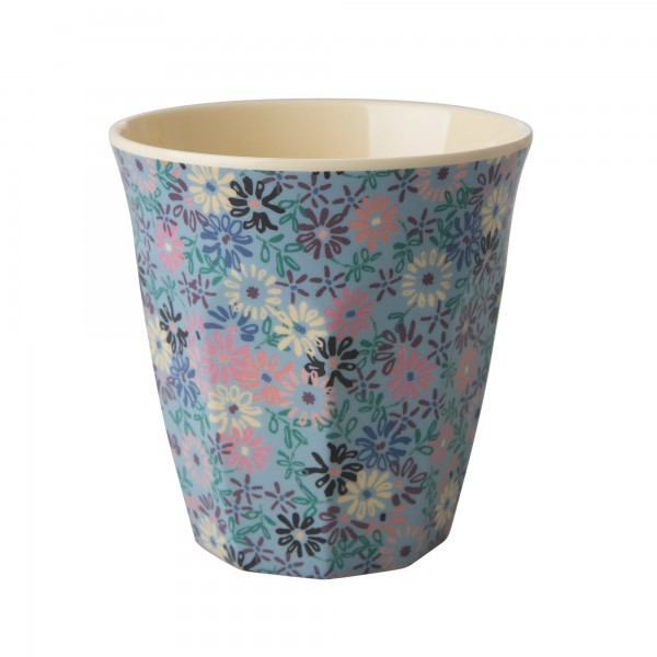 Rice Melamin Becher Two Tone Flower