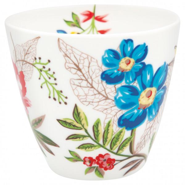 Greengate Latte Cup Ellen White
