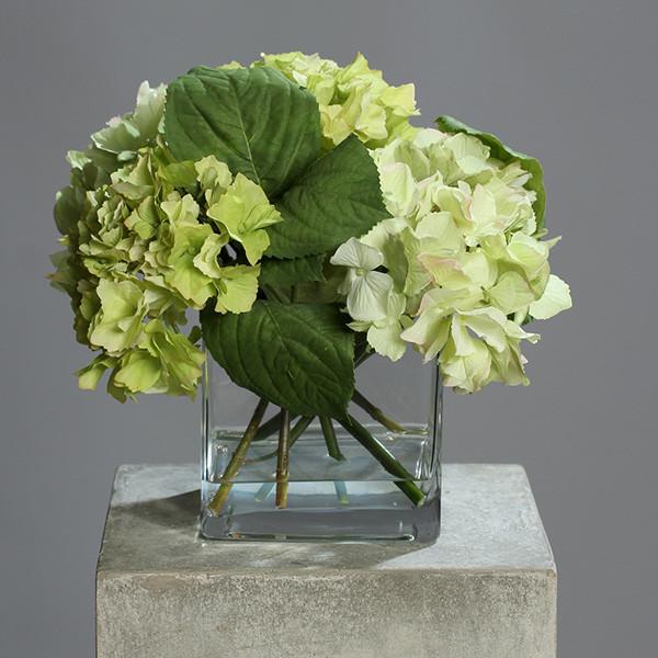 Blumenarragement Hortensie inkl. Vase