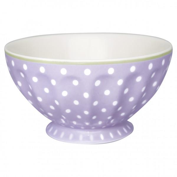 Greengate French Bowl XL Spot lavendar