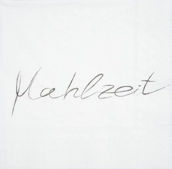 """räder Papierservietten """"Mahlzeit""""  20 Stück"""