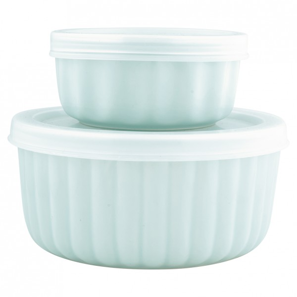 Greengate Ofenform-Set mit Deckel Alice Pale Blue