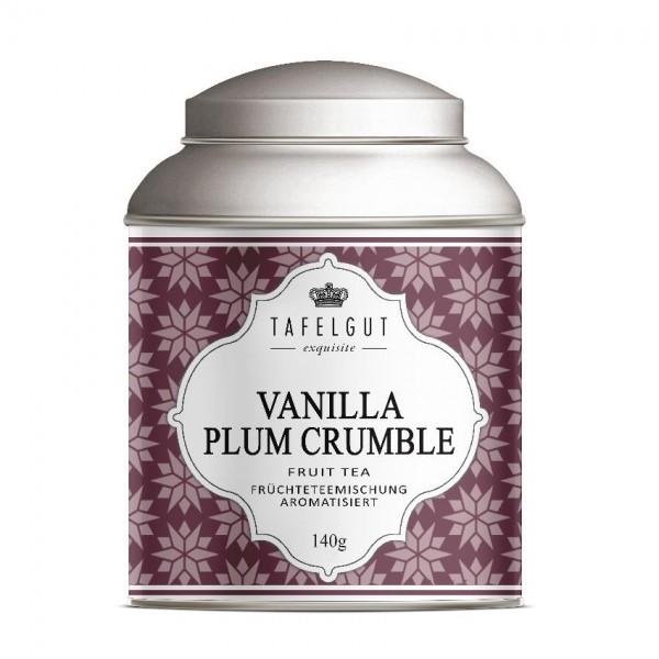 Tafelgut Vanilla Plum Crumble Tea, Früchteteemischung aromatisiert
