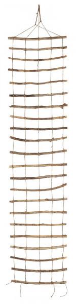 Ib Laursen Spalier aus Zweigen und Schnüren