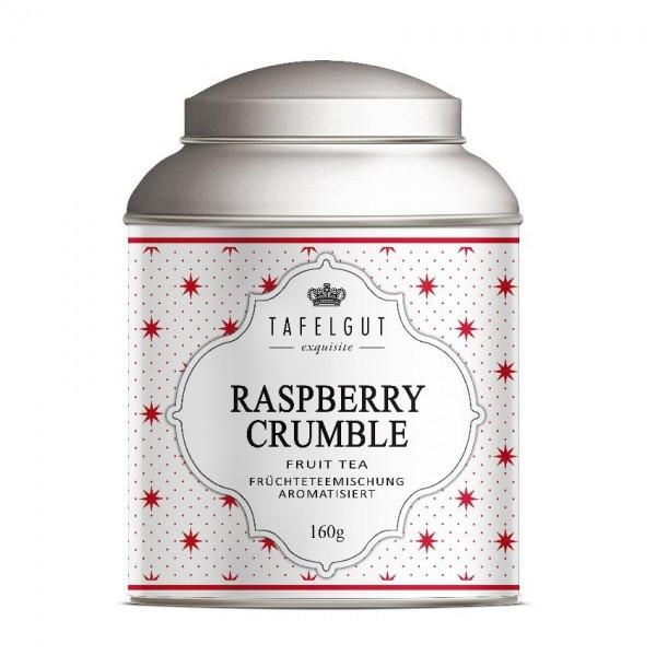 Tafelgut Raspberry Crumble Tea, Früchteteemischung aromatisiert