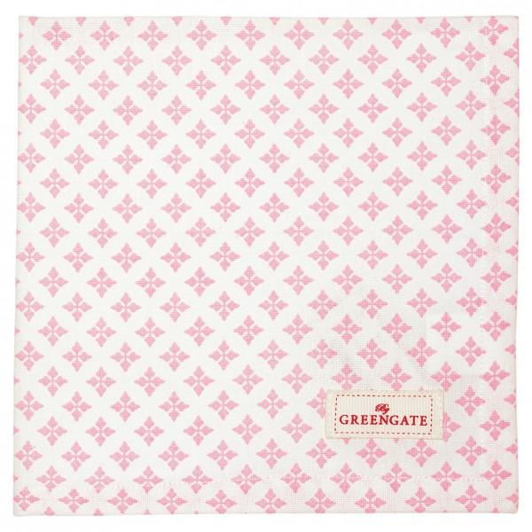 Greengate Stoffserviette Sasha pale pink