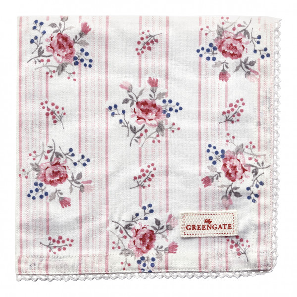 Greengate Stoffserviette Fiona pale pink