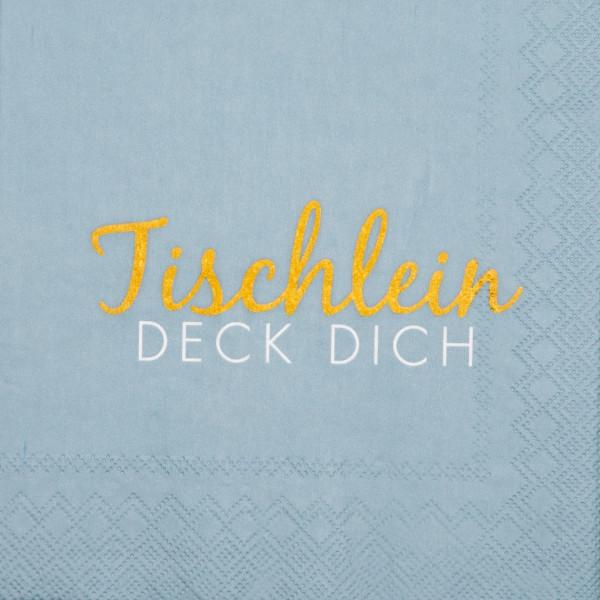 """räder Papierservietten """"Tischlein Deck Dich"""" 20 Stück"""