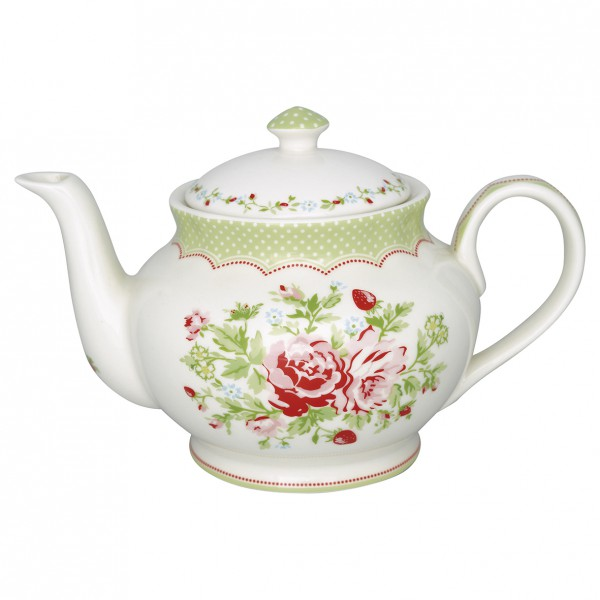 Greengate Teekanne Mary white
