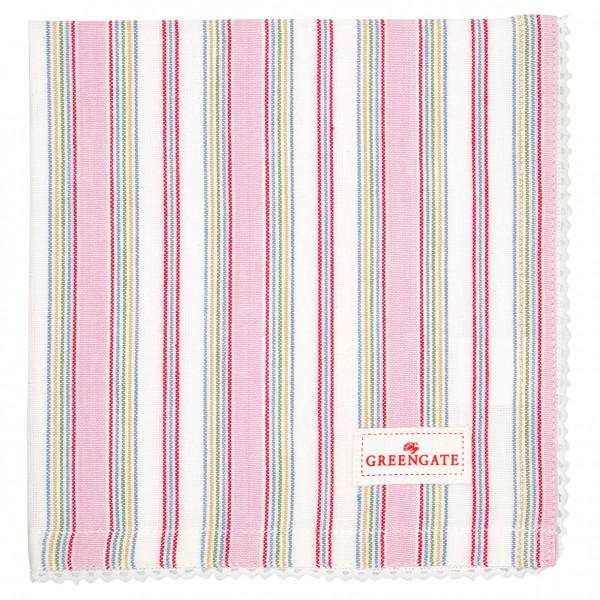 Greengate Stoffserviette Imke pale pink