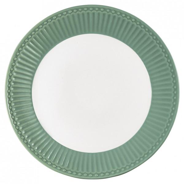 Greengate Porzellan-Teller Alice Dusty Mint