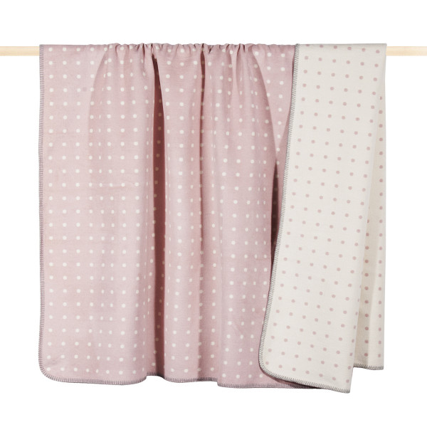 pad design Wolldecke DOT Dusty Pink