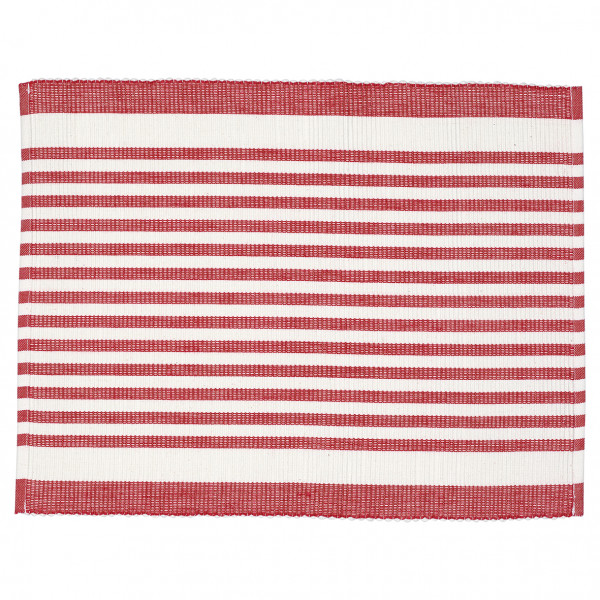 Greengate Platzset Alice Stripe red