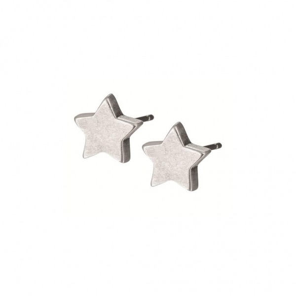 Sence Copenhagen Signature Ohrstecker star worn silver