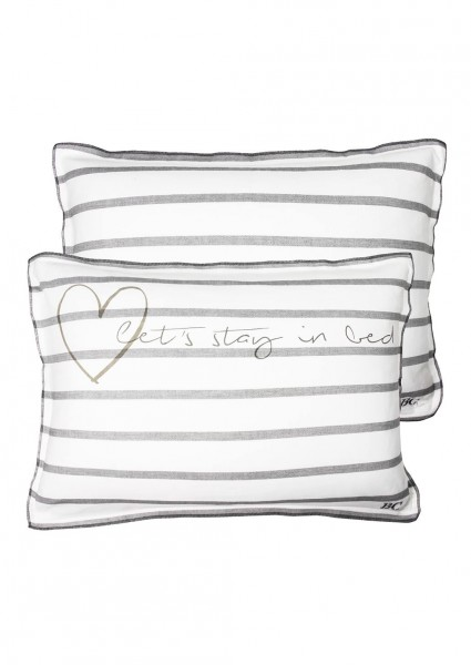 Bastion Collections Kissen Let´s stay in bed!