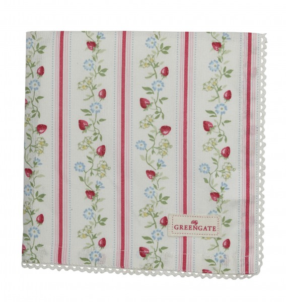 Greengate Stoffserviette Gloria White Sonderedition 2019