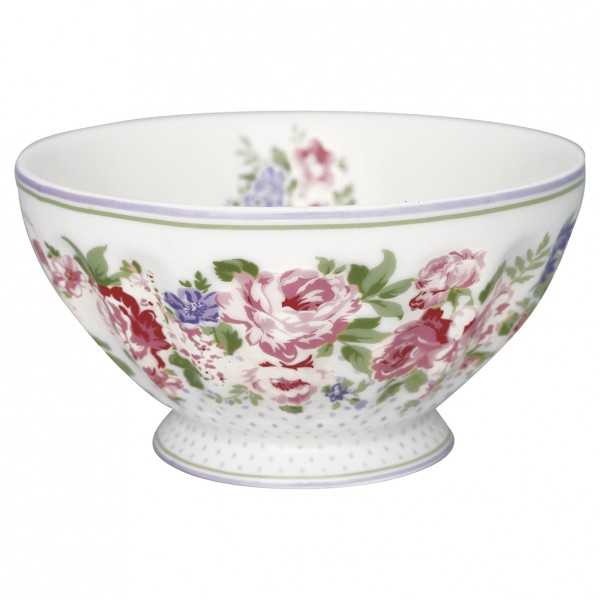 Greengate French Bowl XL Rose white