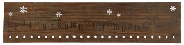 Ib Laursen Weihnachtskalender 1 - 24 aus Holz
