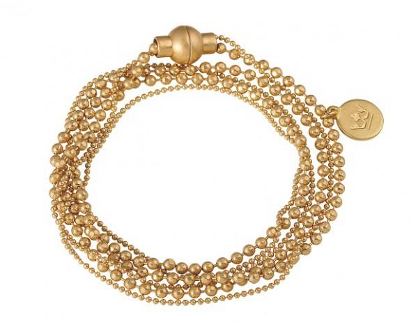 Sence Copenhagen Armband Hippie worn gold