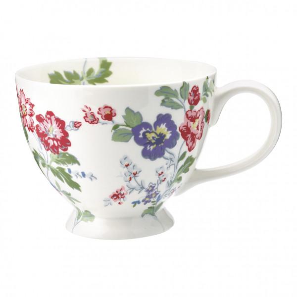 Greengate Teacup Isobel White