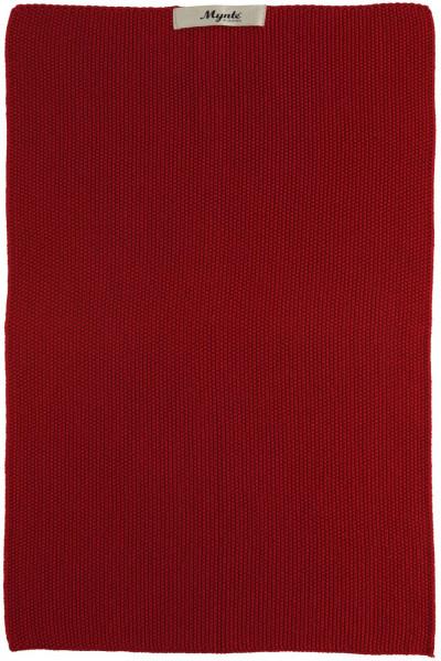 Ib Laursen Handtuch Mynte Strawberry gestrickt