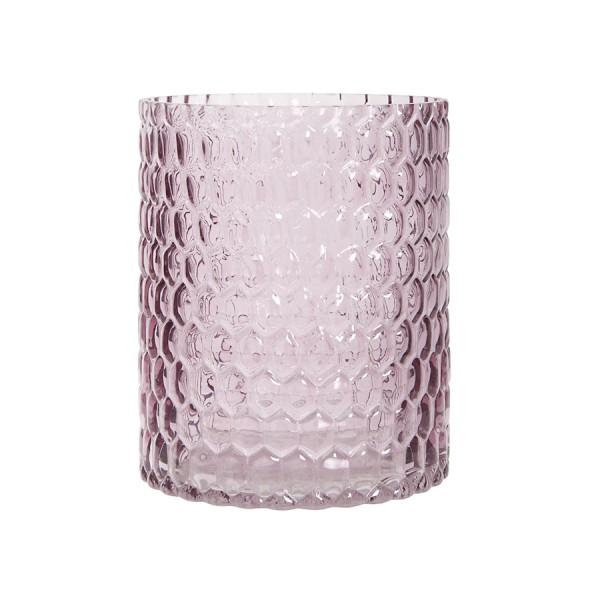 Ib Laursen Glas-Windlicht Hurricane Rosa