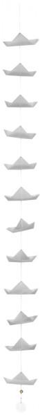 """räder Meer als Worte Schiffchenkette """"Origami Boote"""""""