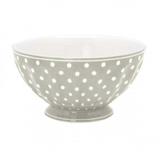 Greengate French Bowl XL Spot grey