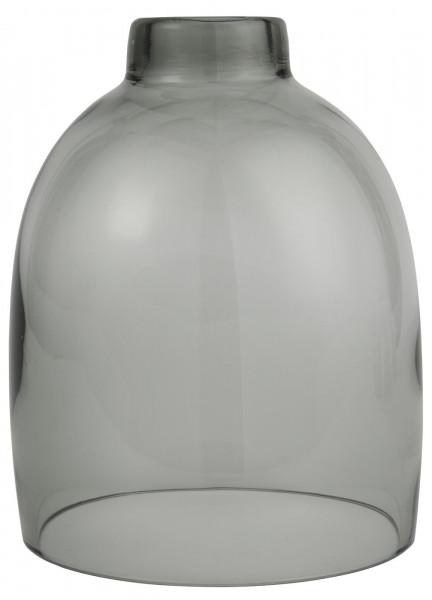 Ib Laursen Glasglocke Grau mundgeblasen
